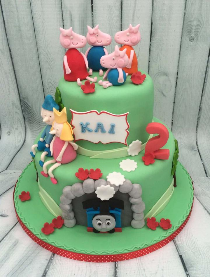 Childrens Character Birthday Cake