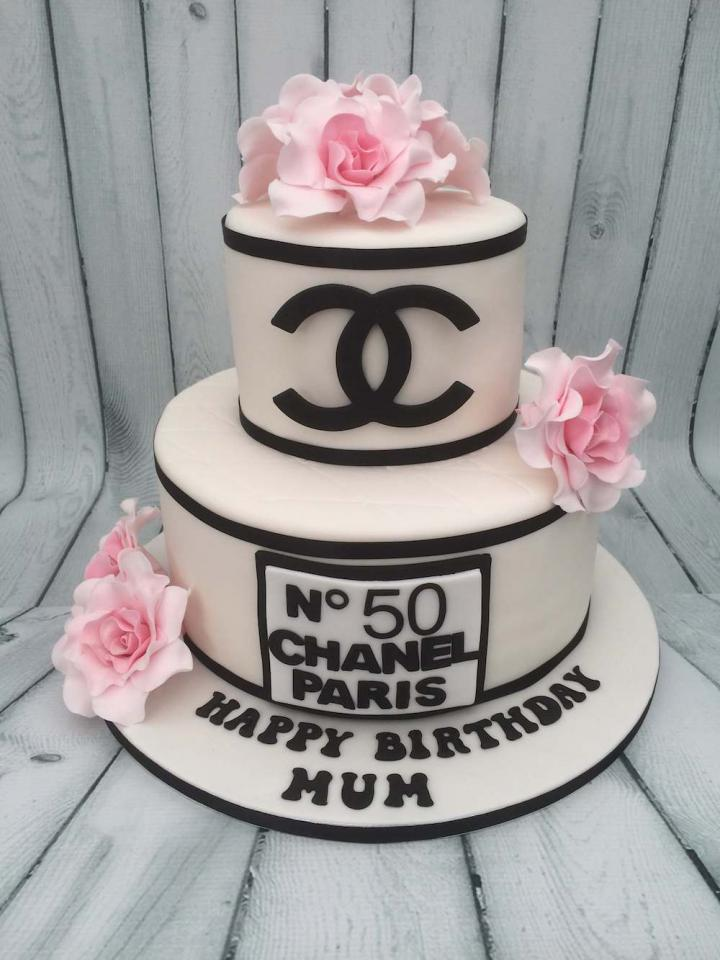 Coco Chanel Birthday Cake