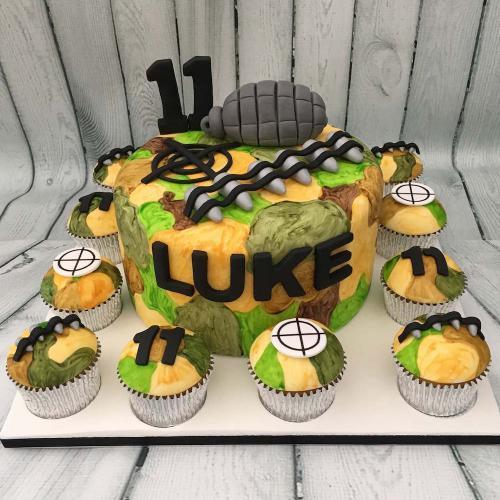 Army Birthday Cake