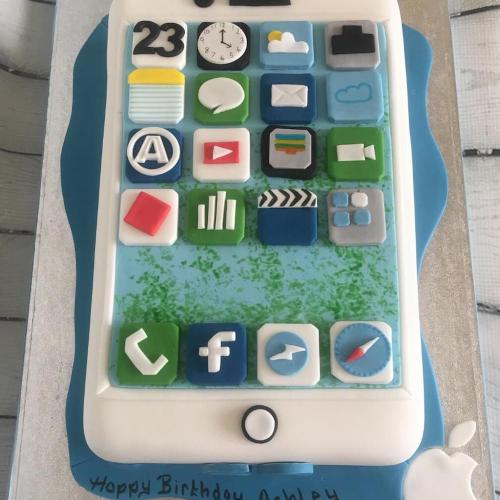 iPhone Birthday Cake