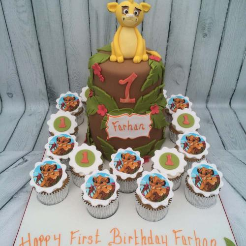 Lion King Birthday Cake