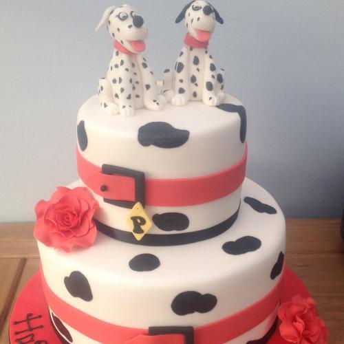 Dalmations Birthday Cake
