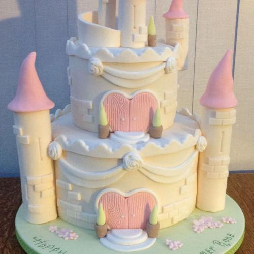 Fairytale Castle Birthday Cake