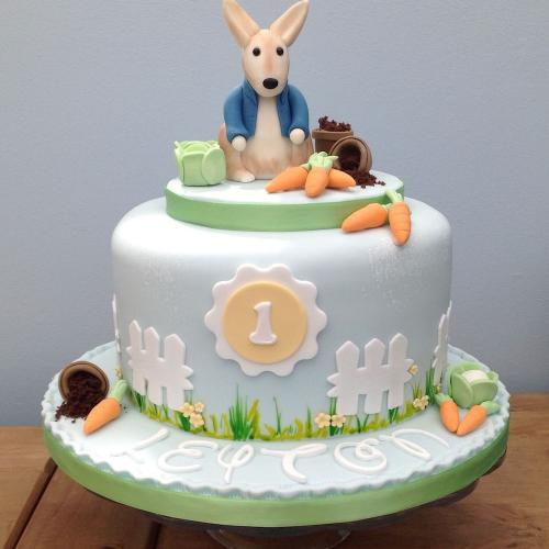Peter Rabbit Birthday Cake