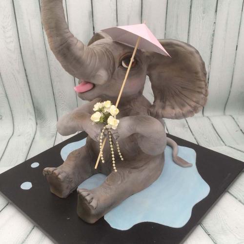 Elephant Celebration Cake