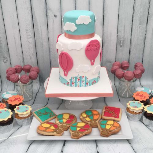 New Baby Celebration Cake